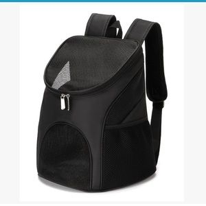 Small backpack carrier for pets